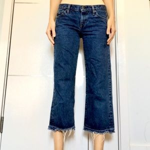 Simon Miller wide cropped jeans